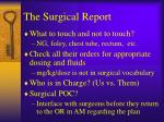 the surgical report1