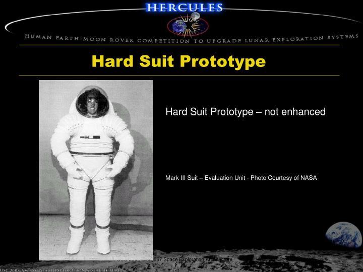 Hard Suit Prototype