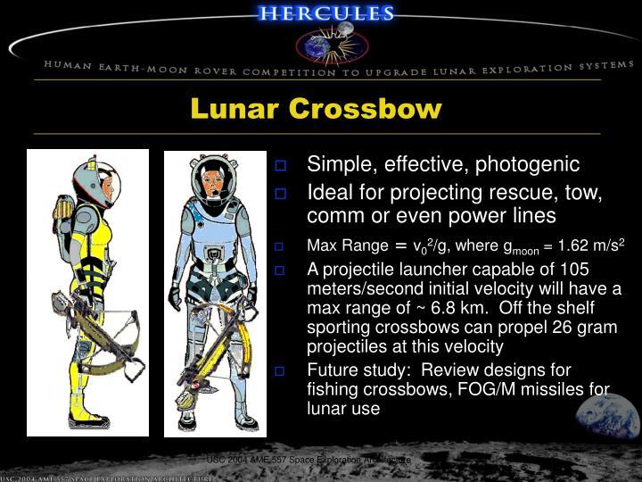 Lunar Crossbow