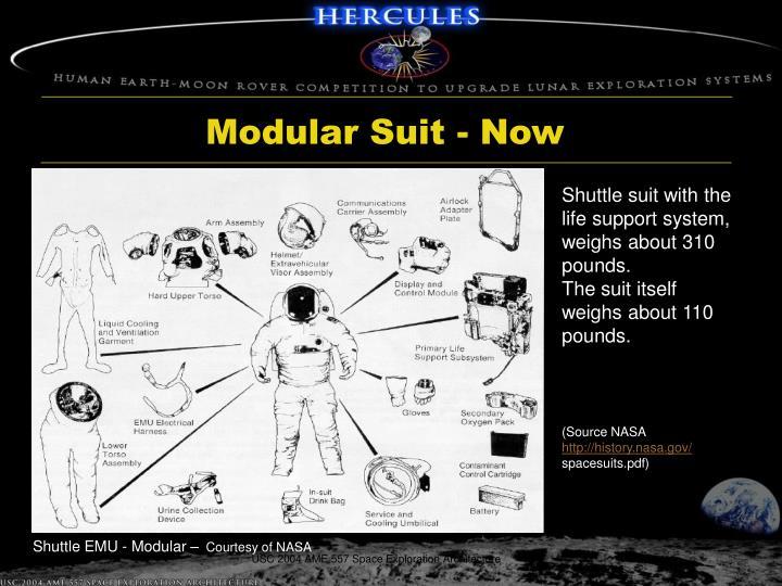 Modular Suit - Now