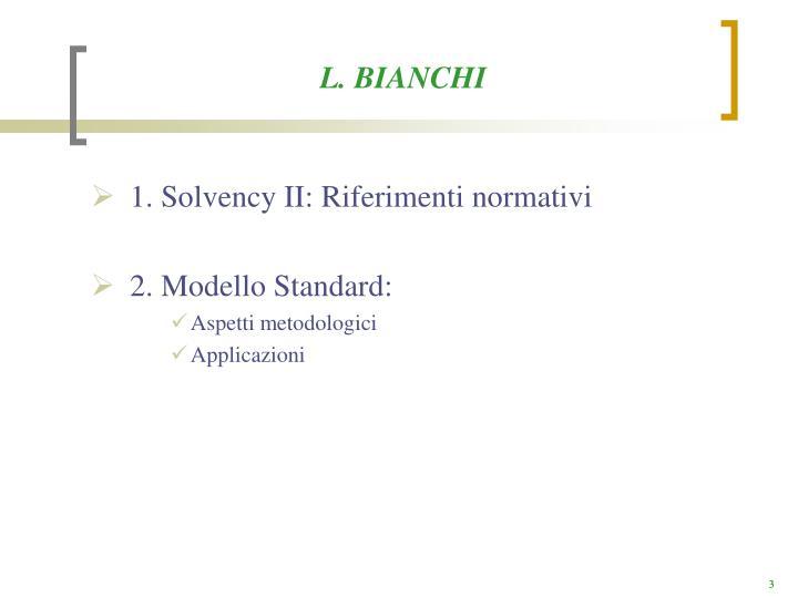 L. BIANCHI