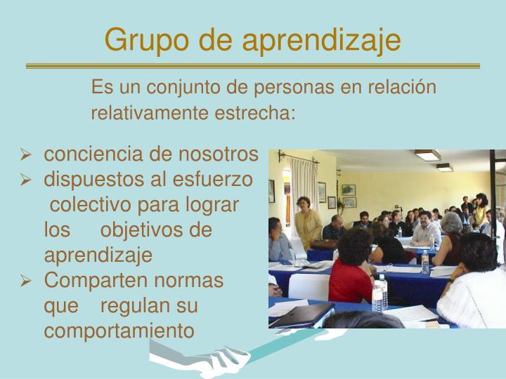 Grupo de aprendizaje