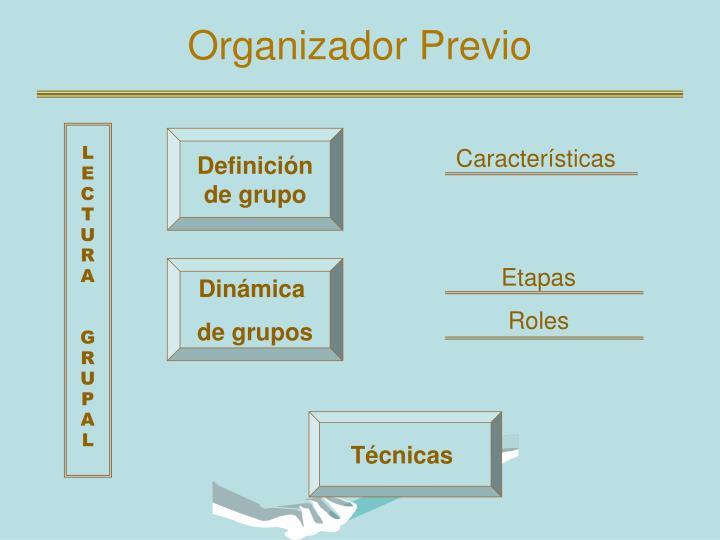 Organizador Previo