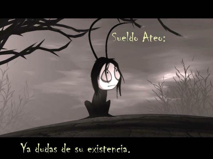 Sueldo Ateo: