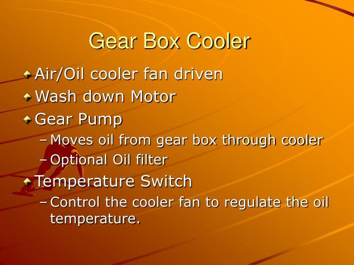 Gear Box Cooler