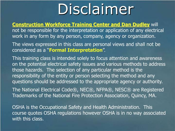 Construction Workforce Training Center and Dan Dudley