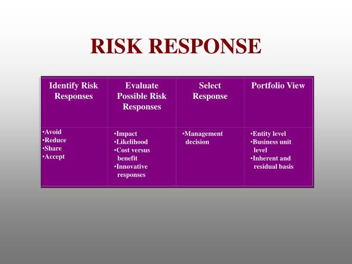 Identify Risk Responses