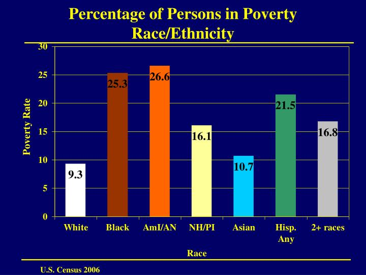 Percentage of Persons in Poverty Race/Ethnicity
