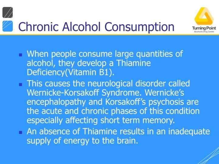 Chronic Alcohol Consumption