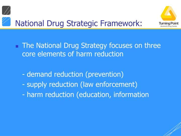 National Drug Strategic Framework: