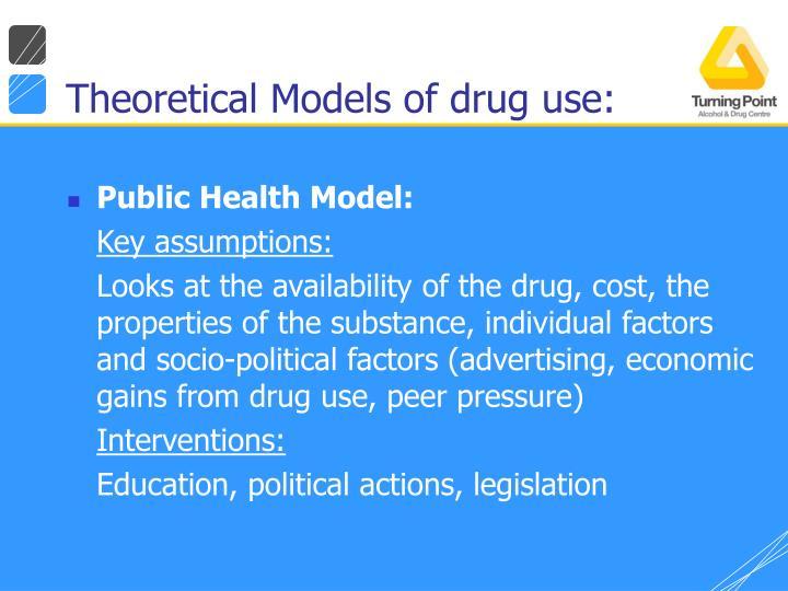 Theoretical Models of drug use: