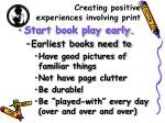 creating positive experiences involving print