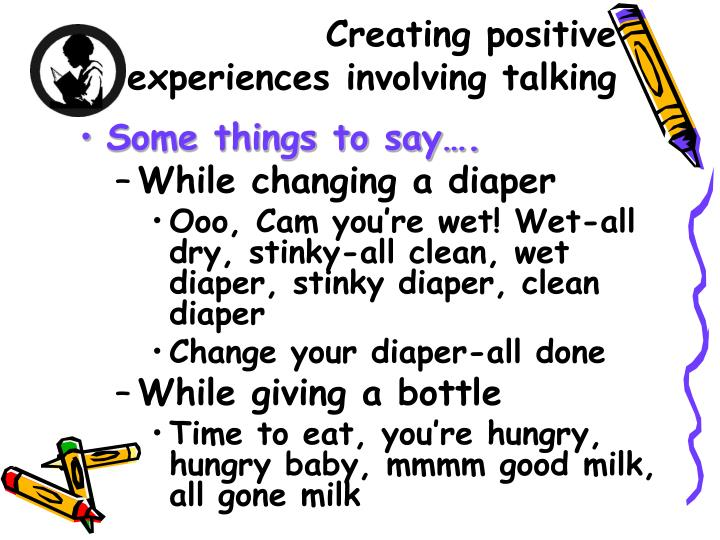 Creating positive