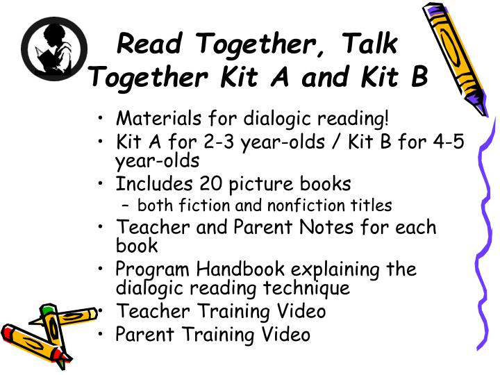 Read Together, Talk Together Kit A and Kit B