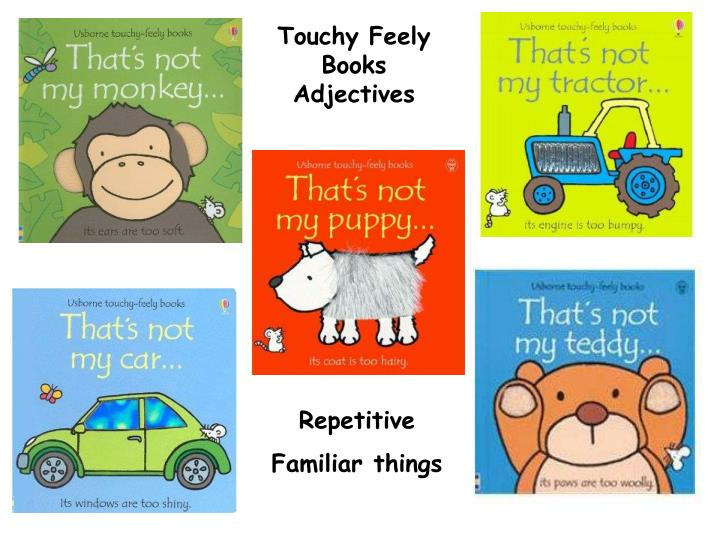 Touchy Feely Books Adjectives