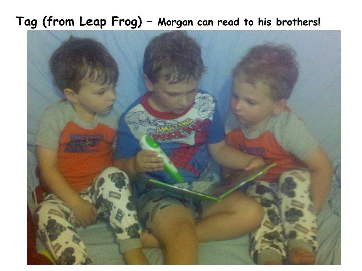 Tag (from Leap Frog) –