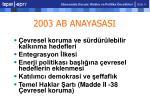 2003 ab anayasasi