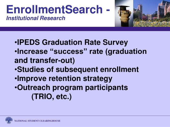 IPEDS Graduation Rate Survey