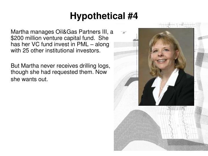 Hypothetical #4