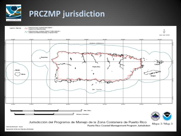 PRCZMP jurisdiction