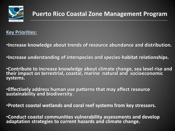 Puerto Rico Coastal Zone Management Program