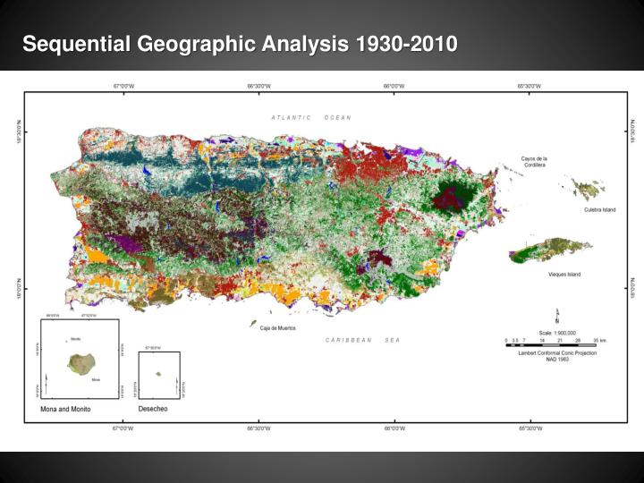 Sequential Geographic Analysis 1930-2010