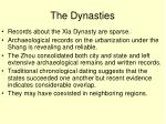 the dynasties1