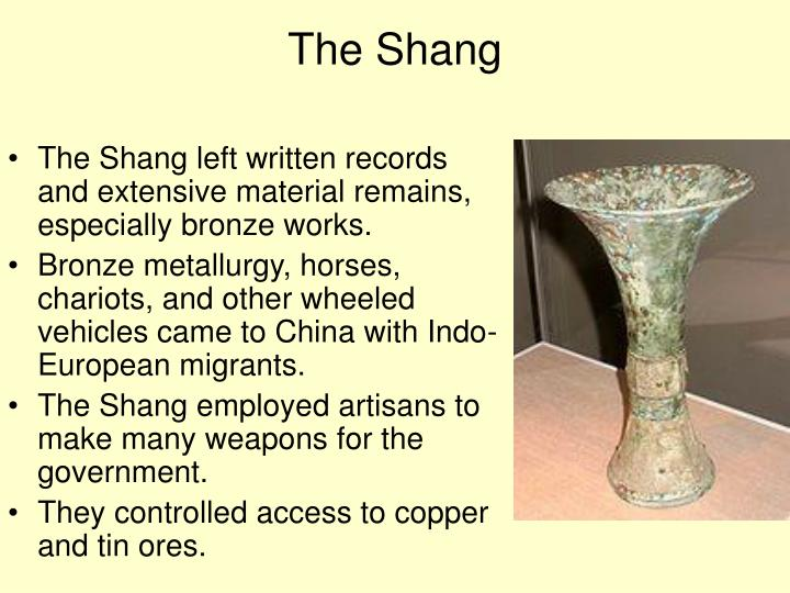 The Shang