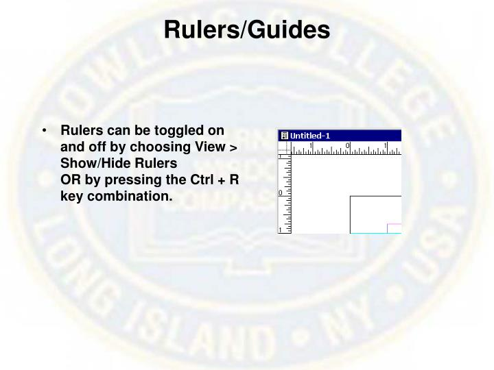 Rulers/Guides
