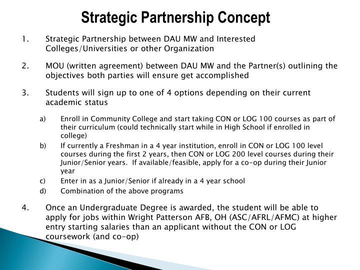 Strategic Partnership Concept