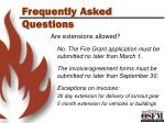 frequently asked questions7