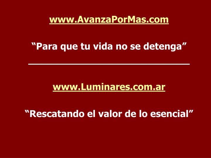 www.AvanzaPorMas.com