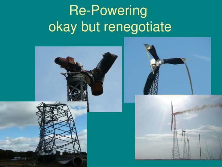 Re-Powering