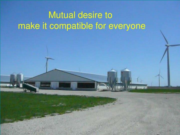 Mutual desire to