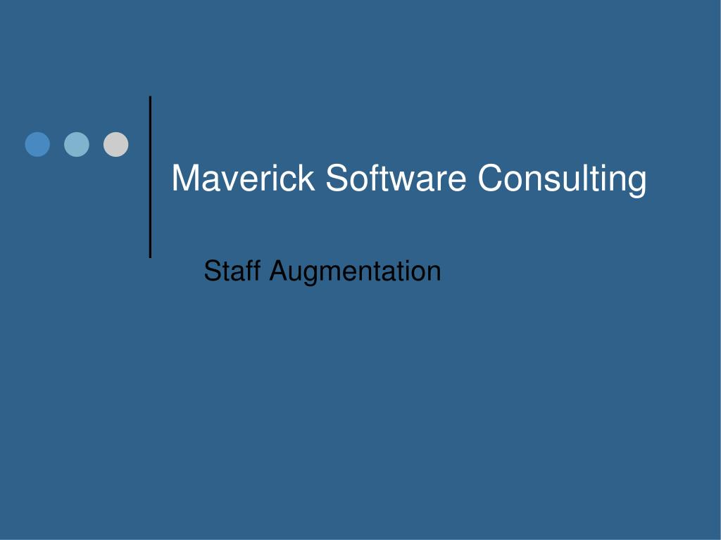 Maverick Software Consulting