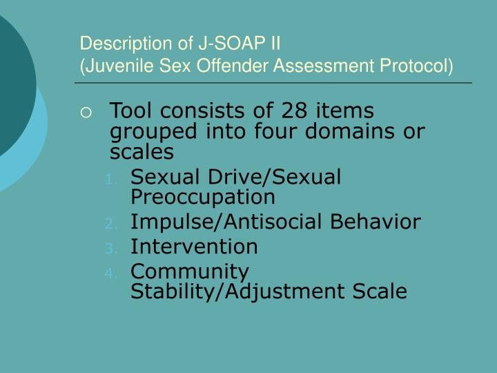 Description of J-SOAP II