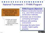 national framework fhwa program2