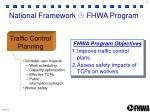 national framework fhwa program3