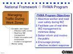 national framework fhwa program4