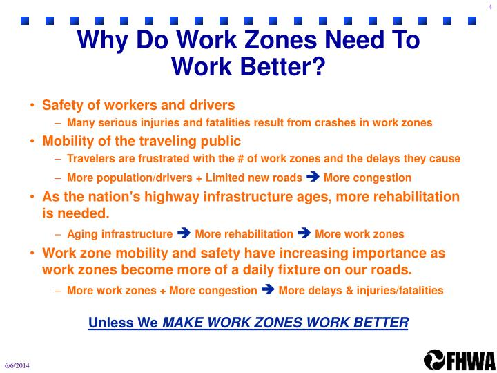 Why Do Work Zones Need To Work Better?