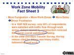 work zone mobility fact sheet 3