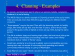 4 clanning examples