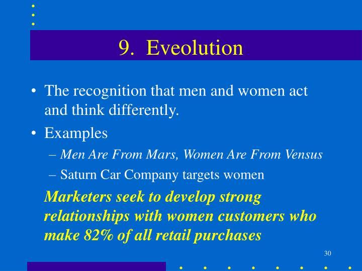 9.  Eveolution