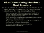 what causes eating disorders mood disorders1