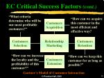 ec critical success factors cont2