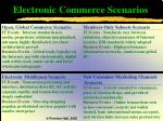 electronic commerce scenarios