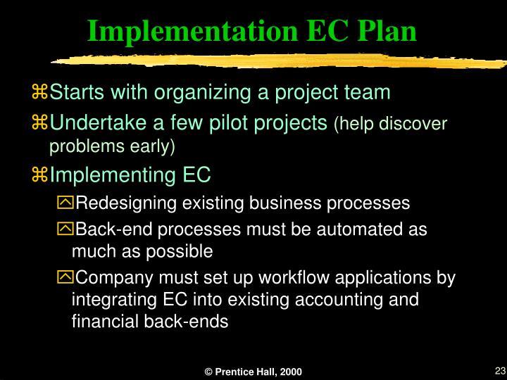 Implementation EC Plan