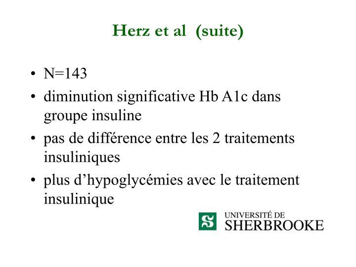 Herz et al  (suite)