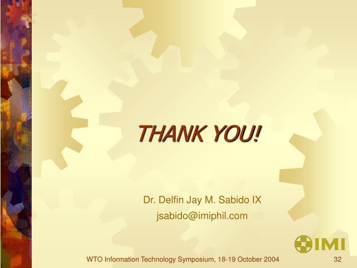 Dr. Delfin Jay M. Sabido IX