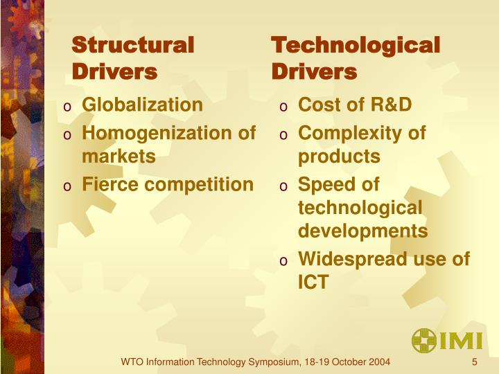 Structural Drivers